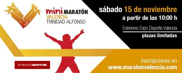 Mini Maratón infantil Valencia Trinidad Alfonso