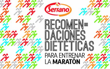Recomendaciones dietéticas para entrenar la maratón