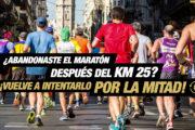 Termina lo que empezaste el 2 de diciembre de 2018 en el Maratón Valencia