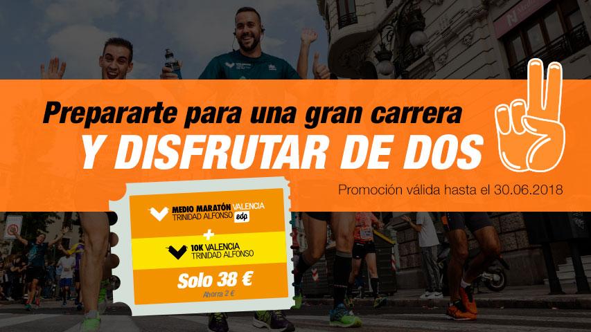 Pack Medio Maratón Valencia