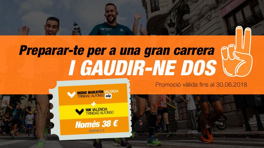Packs Curses Marato Valencia i Mitja Marato