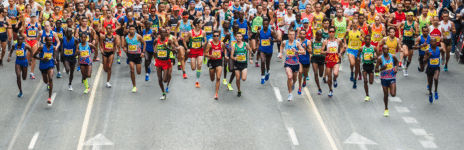 Salida Medio Maratón Valencia 2017