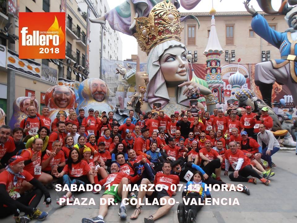 Entrenamiento Fallero - Fallas 2018