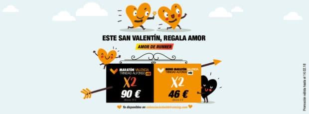 Corre con tu pareja en Valencia Ciudad del Running con descuento