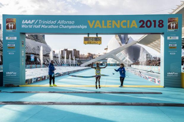 Gedeta Kedebe Valencia 2018 IAAF