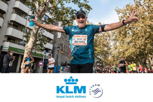 Agreement between KLM and the Valencia-Trinidad Alfonso EDP Half-Marathon and Marathon