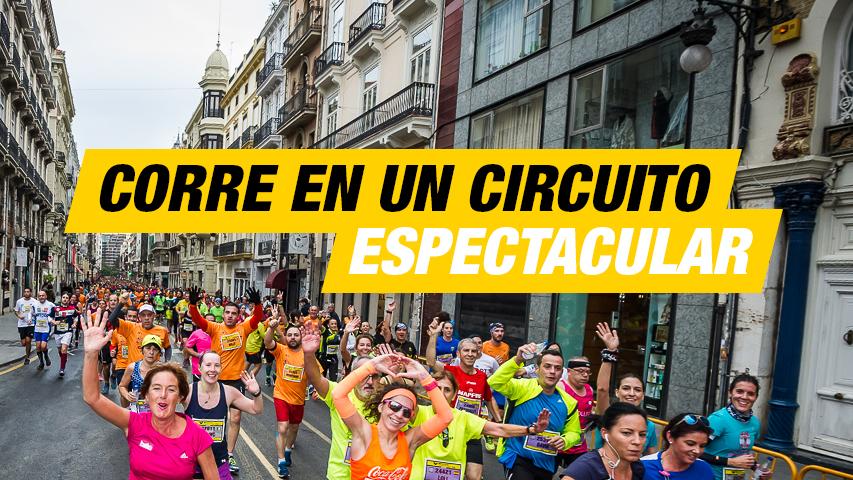 Recorrido espectacular 10K Valencia