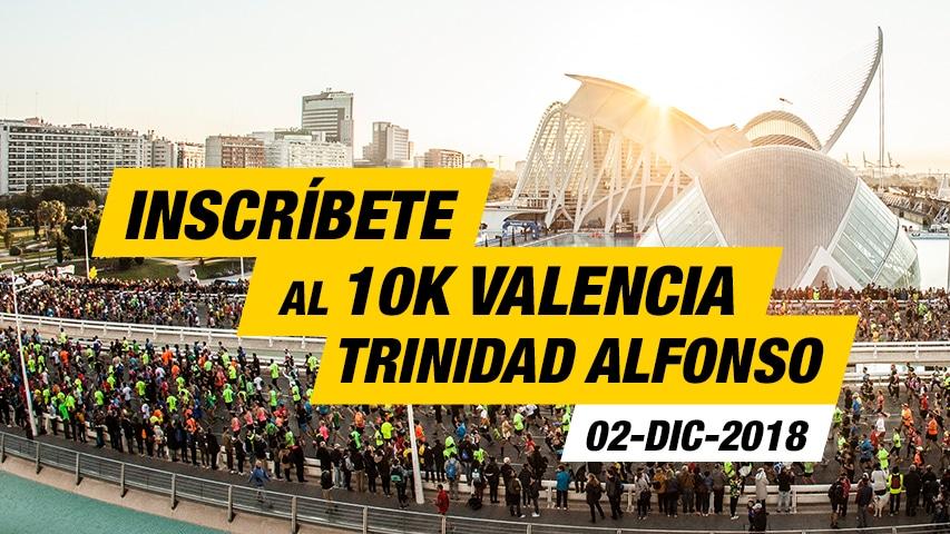Inscripción 10K Valencia Trinidad Alfonso EDP