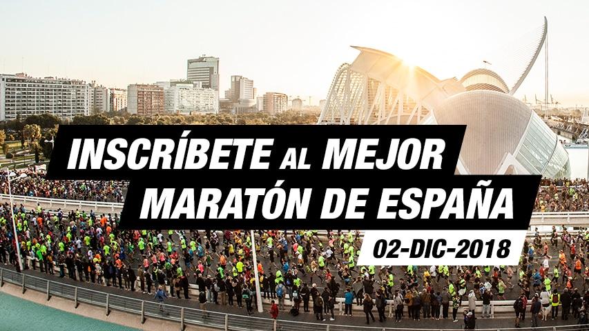 Inscripción Maratón Valencia Trinidad Alfonso EDP 2018