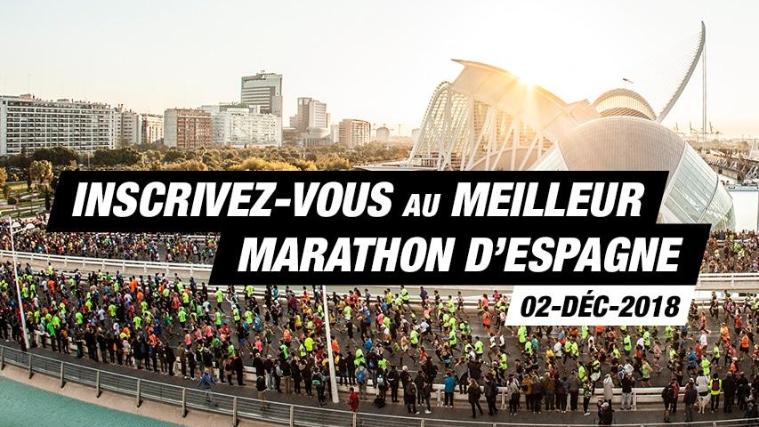Inscrivez-vous au Marathon Valencia