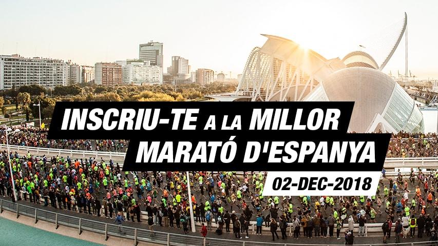 Inscripció Marató Valencia