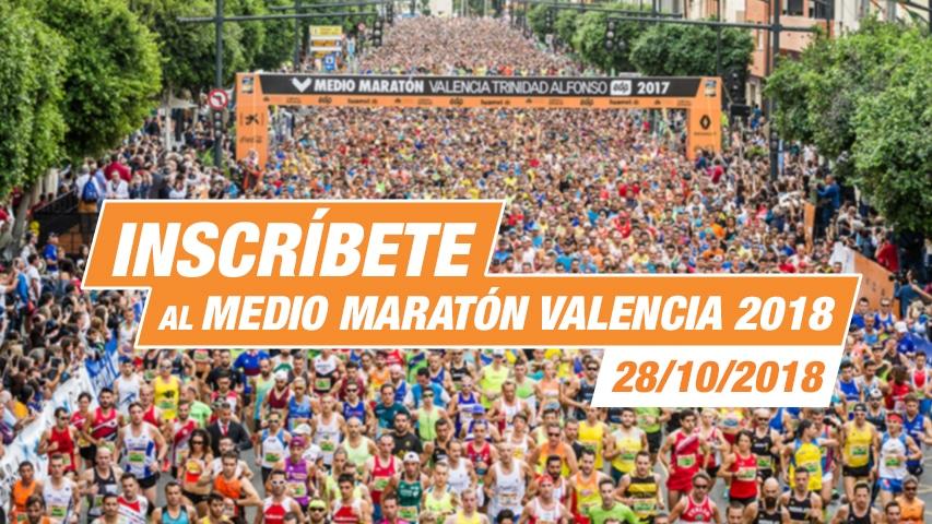 Inscripción Medio Maratón Valencia
