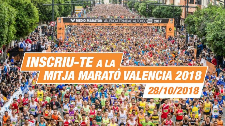 Inscripcions Mitja Marato Valencia