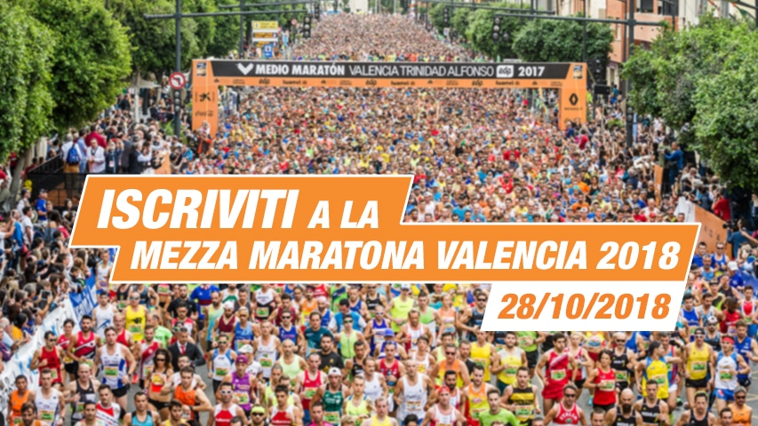 Inscriviti Mezza Maratona Valencia