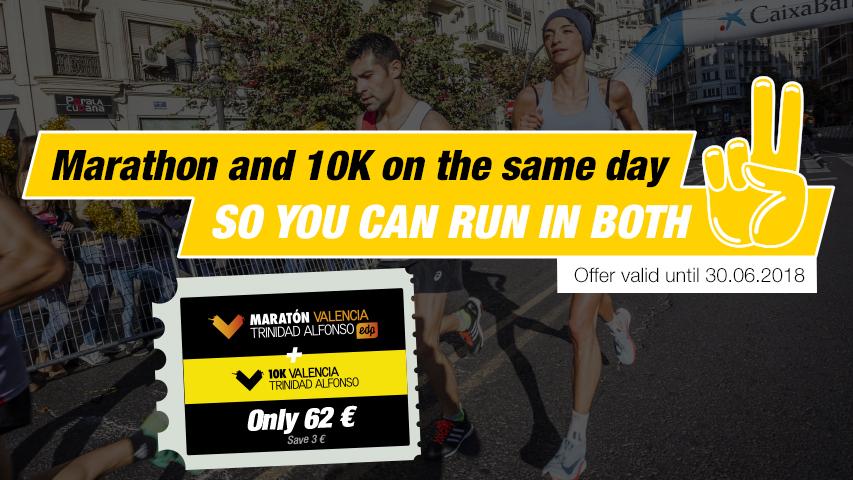 Registration Pack Valencia Marathon and 10K