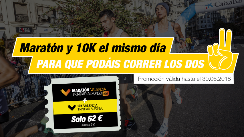 Pack Maratón Valencia y 10K
