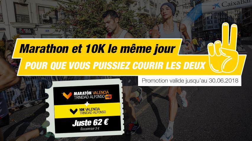 Pack Valencia Marathon et 10K