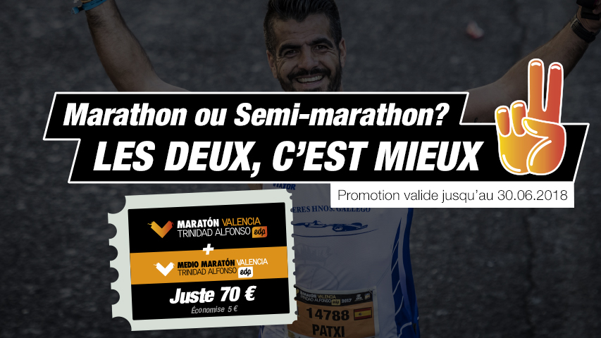 Marathon et Semi-Marathon Valencia