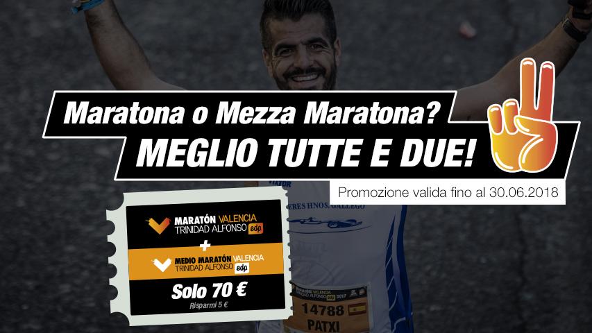 Maratona et Mezza Maratona Valencia