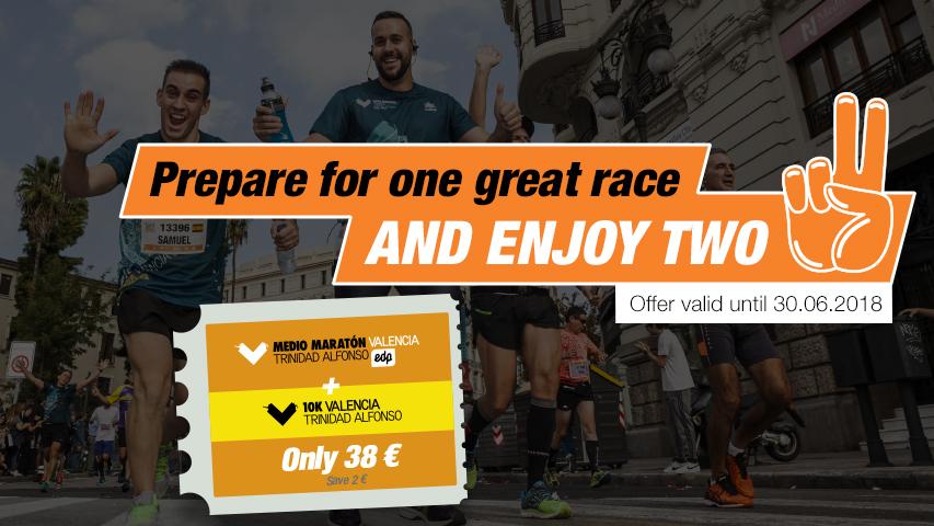 Registration Packs Valencia Half Marathon and 10K