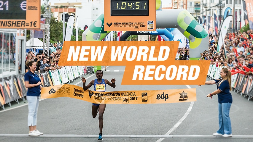 Récord del Mundo Femenino Media Maratón