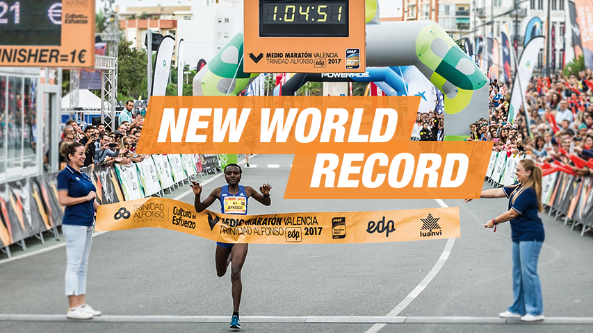 Womens World Record Mezza Maratona