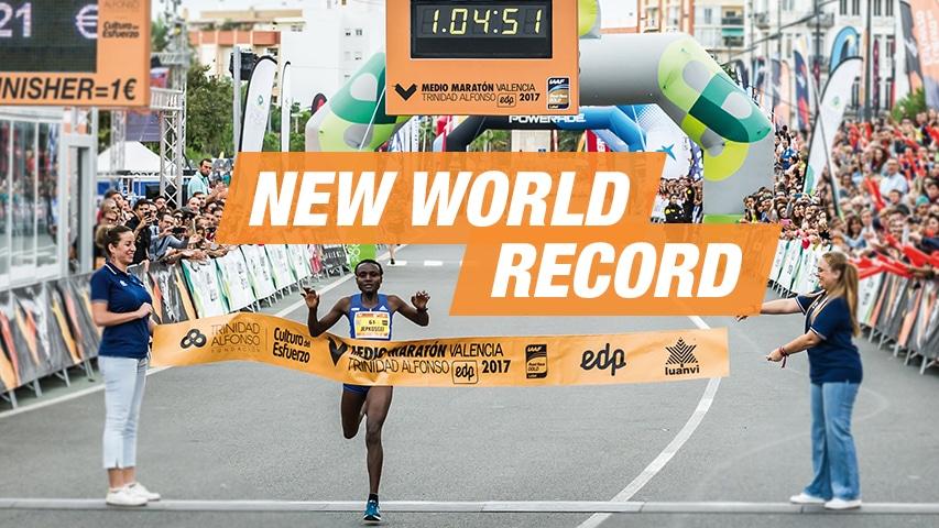 Record del Mon de Mitja Marató