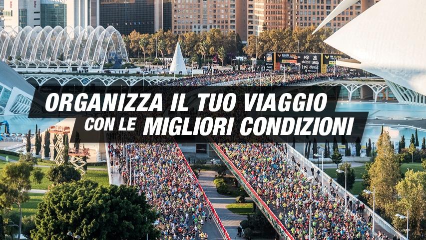 Organizza il tuo viaggio Maratona Valencia