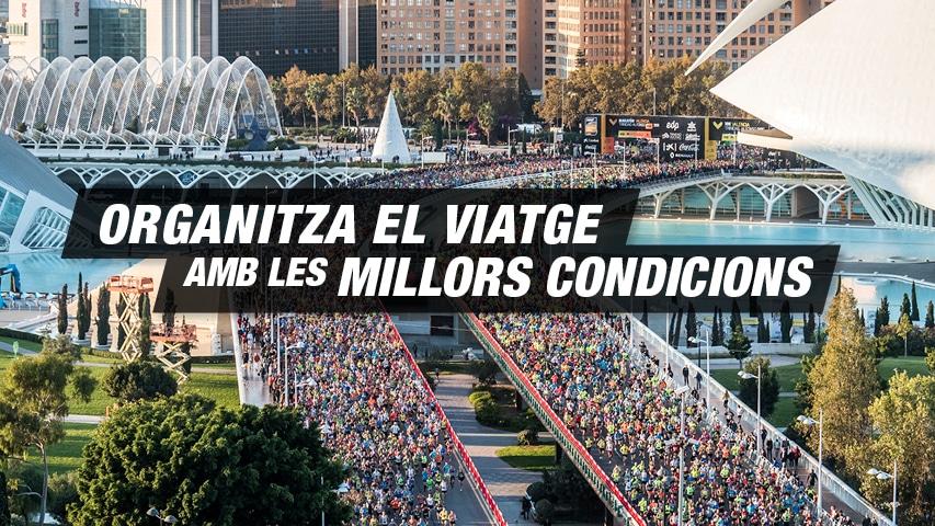 Organitza el viatge Marató Valencia