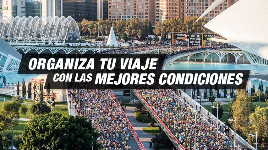 Organiza tu Viaje - Maratón Valencia