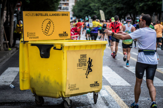 Ecoembes joins the Valencia Marathon