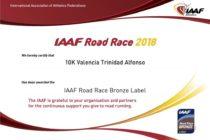 10K Valencia Trinidad Alfonso – IAAF Bronze Label
