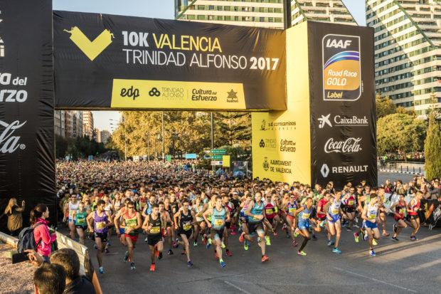 10K Valencia Trinidad Alfonso - Etiqueta Bronce