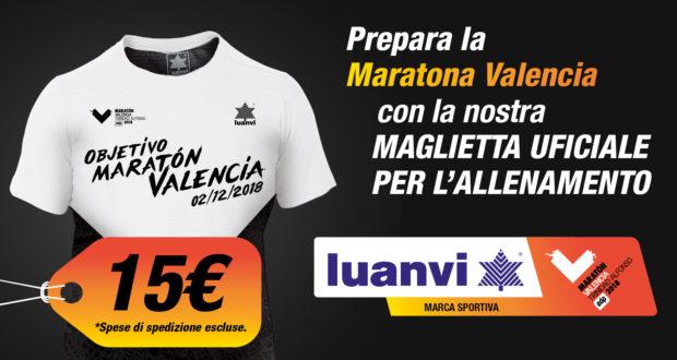 Maglietta Allentamento Maratona Valencia