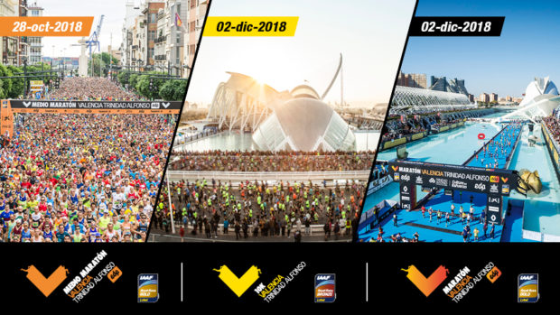 Etiquetas IAAF en Valencia Ciudad del Running