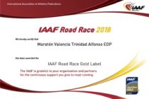 Maratón Valencia – IAAF Gold Label