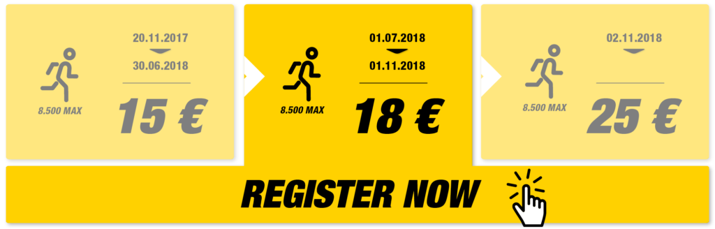 Registrations 10K Valencia