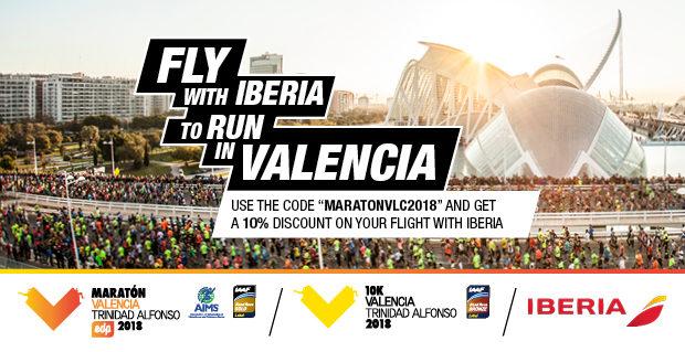 Iberia Discounts Valencia Marathon