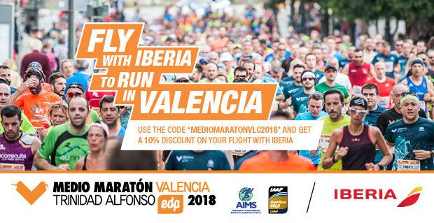 Iberia Discounts for Valencia Half Marathon