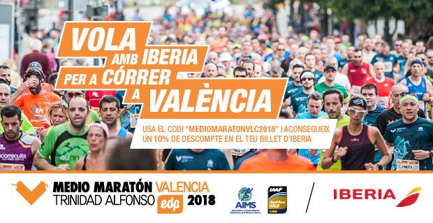Descomptes Iberia Mitja Marato Valencia