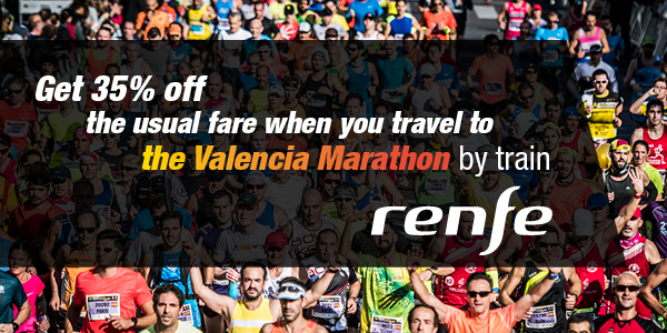 Train Discounts Valencia Marathon