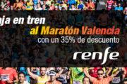 Descuentos Renfe Maratón Valencia 2018