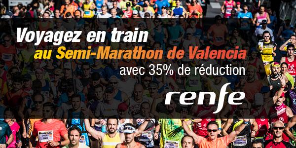 Discount train Valencia Marathon