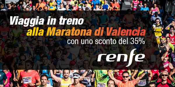 Sconto Treno Maratona Valencia
