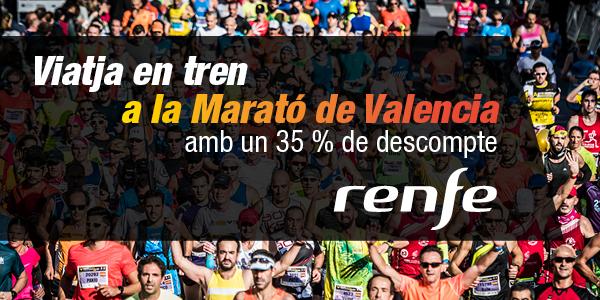 Descomptes Renfe Marató Valencia