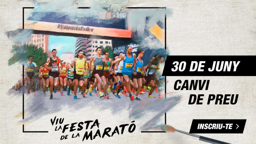 Canvi de Preu - Mitja Marato Valencia