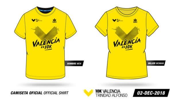 Camiseta 10K Valencia Trinidad Alfonso 2018