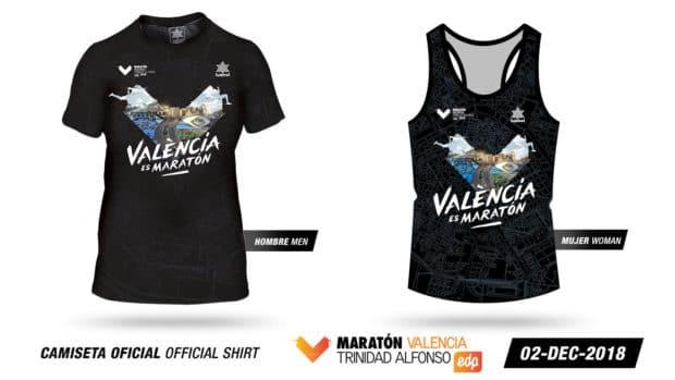 Valencia Marathon Shirt 2018