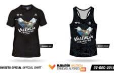 Camisetas Maratón Valencia 2018
