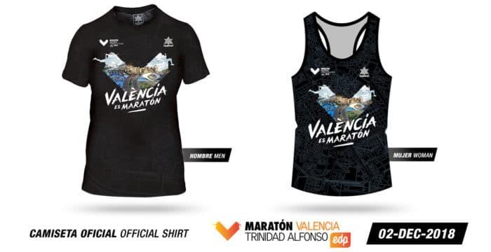 Camisetas Maraton Valencia 2018